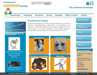 asperger.es screenshot