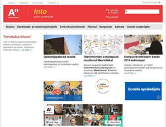 into.aalto.fi screenshot