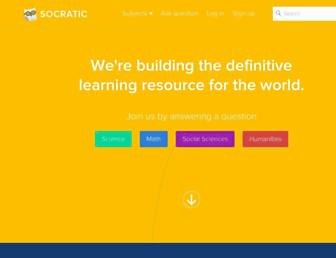 socratic.org screenshot