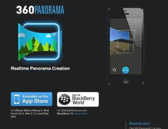 Main page screenshot of 360.io