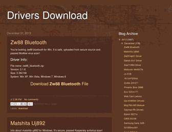 driversdownload999.blogspot.com screenshot