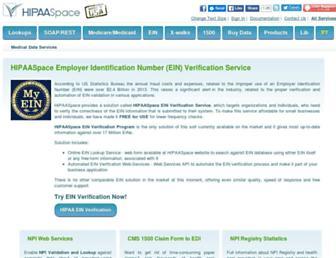 hipaaspace.com screenshot