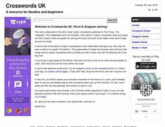 crosswordsuk.net screenshot