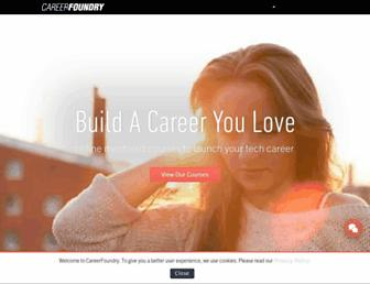 careerfoundry.com screenshot