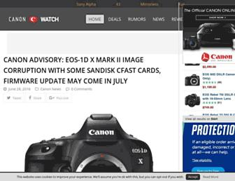 canonwatch.com screenshot