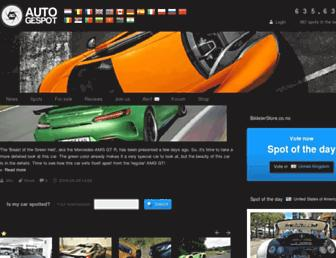 autogespot.com screenshot