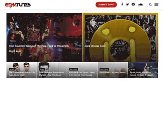 edmtunes.com screenshot