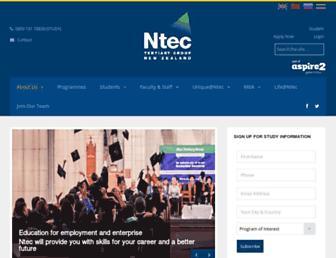 Thumbshot of Ntec.ac.nz