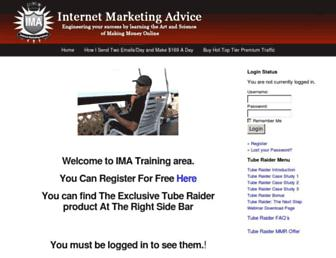 Thumbshot of Internetmarketingadvicev.com