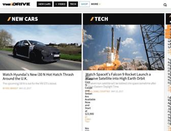 thedrive.com screenshot