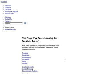 download.autodesk.com screenshot