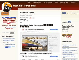 bookrailticket.com screenshot