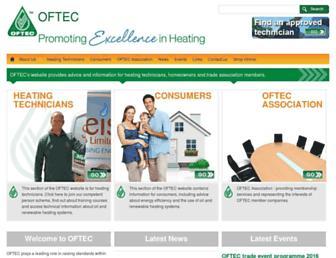 oftec.org screenshot