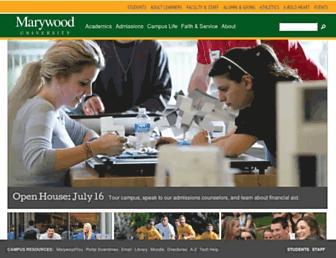 Thumbshot of Marywood.edu