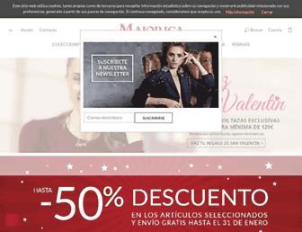 majorica.com screenshot