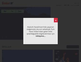 Thumbshot of Setur.com.tr