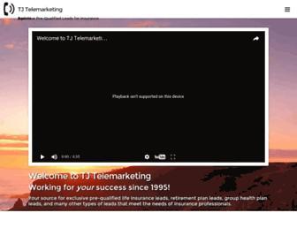 tjtelemarketing.com screenshot