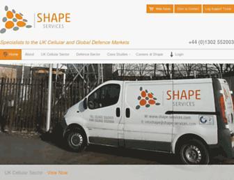 shape-services.com screenshot