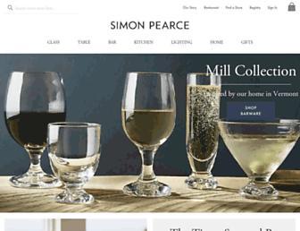 simonpearce.com screenshot