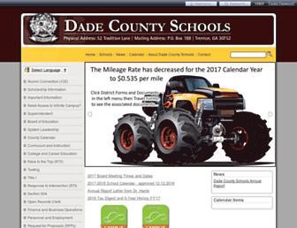 dadecountyschools.org screenshot