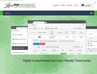 Thumbshot of Phpholidays.com