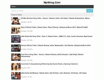 mp4blog.com screenshot