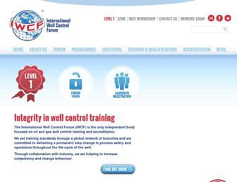 iwcf.org screenshot