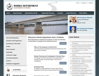 worksodisha.gov.in screenshot