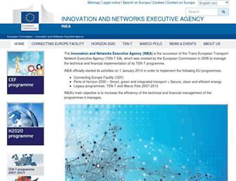 inea.ec.europa.eu screenshot