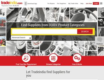Thumbshot of Tradeindia.com
