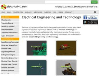 electrical4u.com screenshot