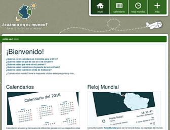 Thumbshot of Cuandoenelmundo.com