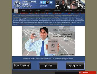 international-license.com screenshot