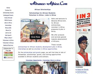 advance-africa.com screenshot