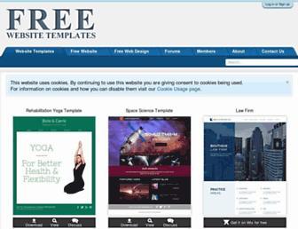freewebsitetemplates.com screenshot