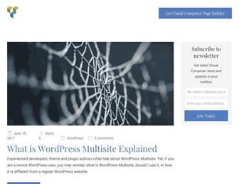 blog.visualcomposer.io screenshot