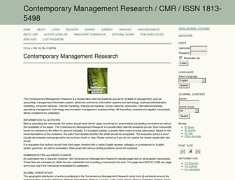 cmr-journal.org screenshot