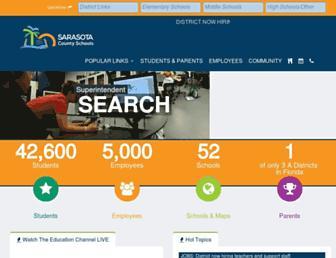Thumbshot of Sarasotacountyschools.net