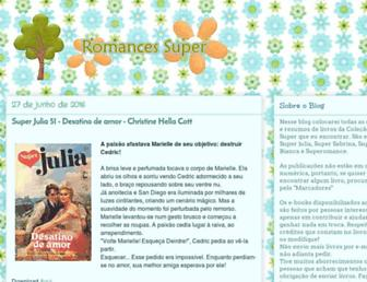 romancessuper.blogspot.com screenshot