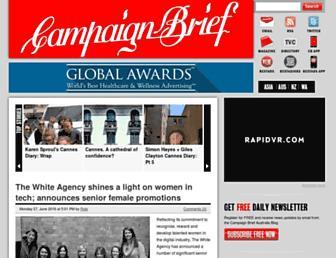 campaignbrief.com screenshot