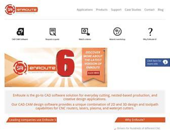 enroutesoftware.com screenshot