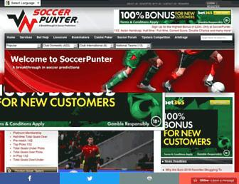 soccerpunter.com screenshot