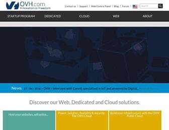 ovh.com screenshot