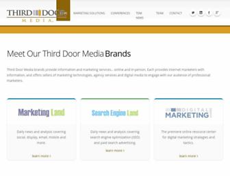 Thumbshot of Thirddoormedia.com