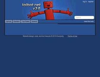 Thumbshot of Lolbot.net