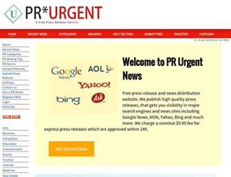 Thumbshot of Prurgent.com