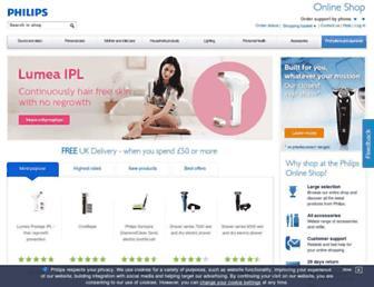 Thumbshot of Philips-shop.co.uk
