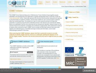 comet-initiative.org screenshot