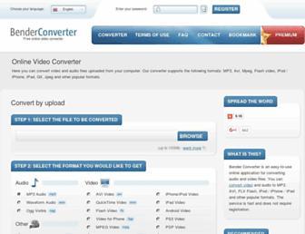 Thumbshot of Benderconverter.com