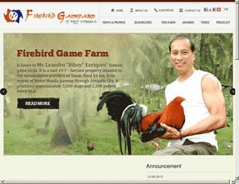 firebirdgamefarm.com screenshot
